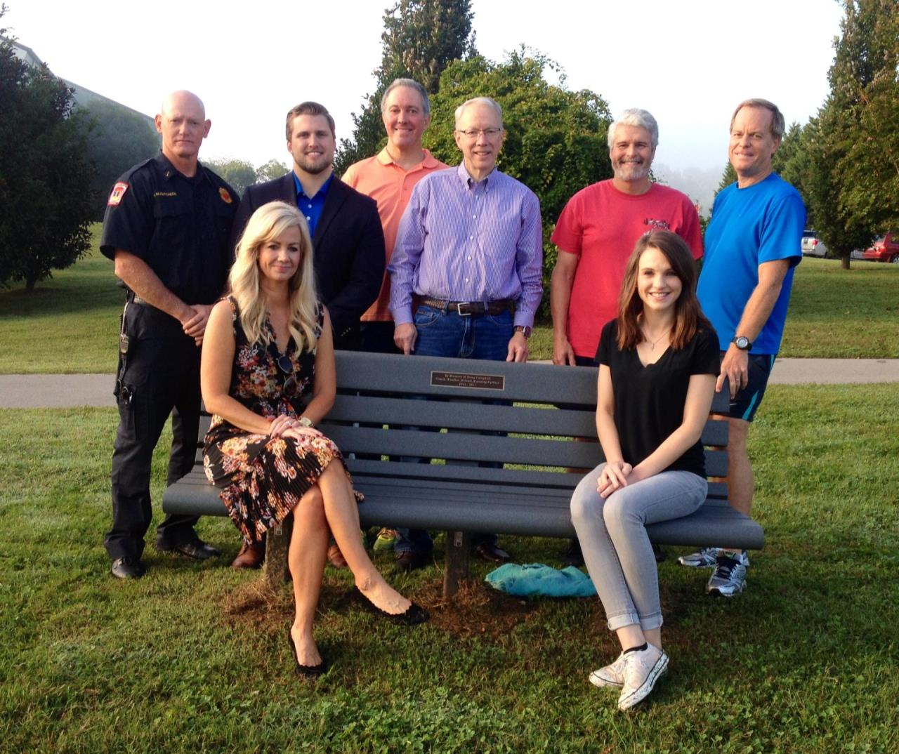 Doug Campbell Memorial Bench