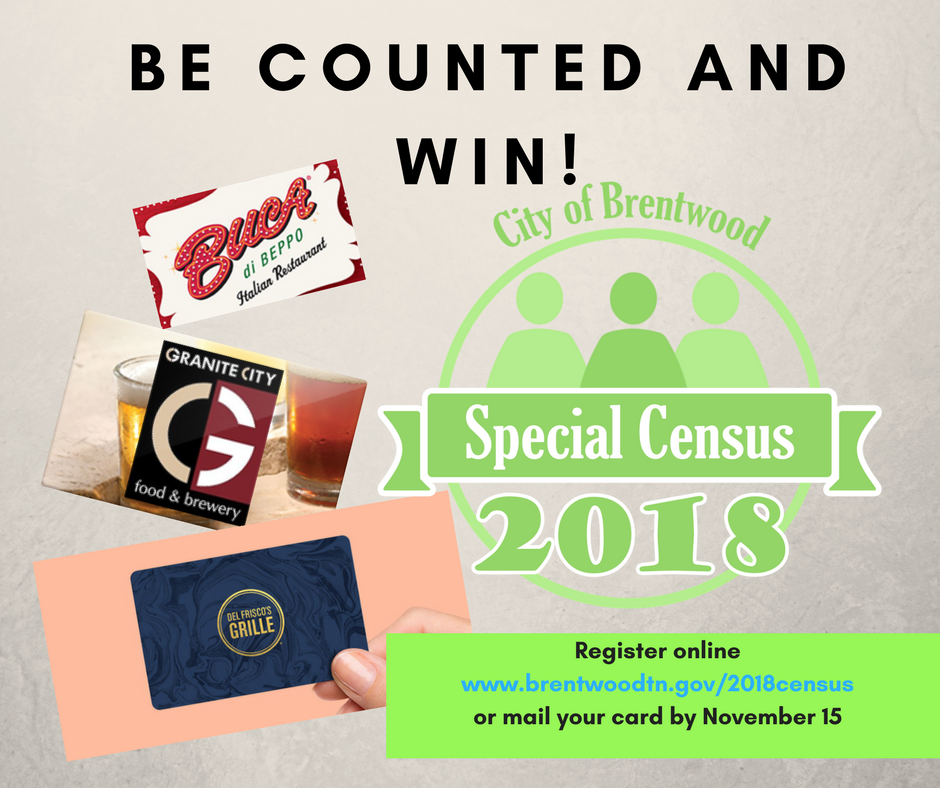 Be Counted and win