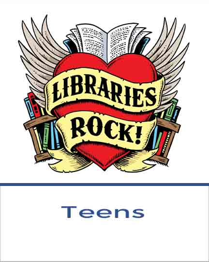 Teens Icon Libraries Rock