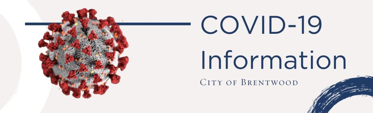 Covid 19 brentwood web banner