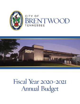 FY 2021 Draft Annual Budget