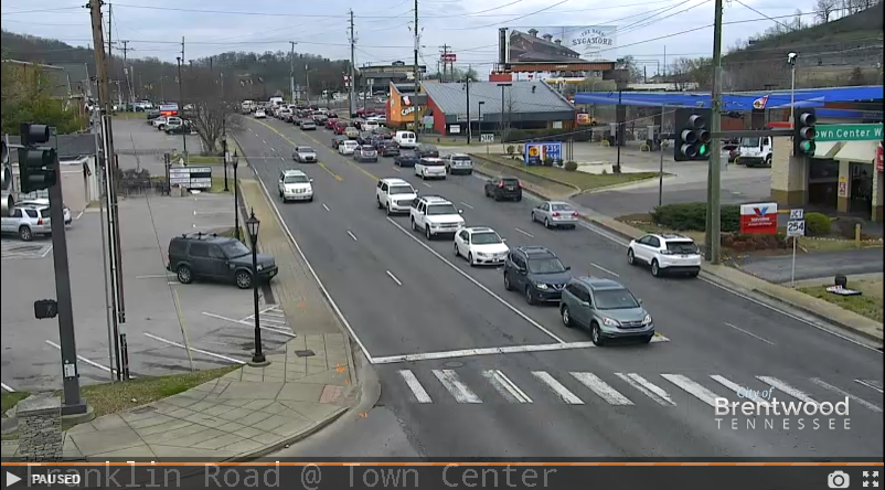 Live Traffic Cameras Now Online | News | City of Brentwood
