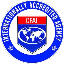 ICAF Accreditation Sticker
