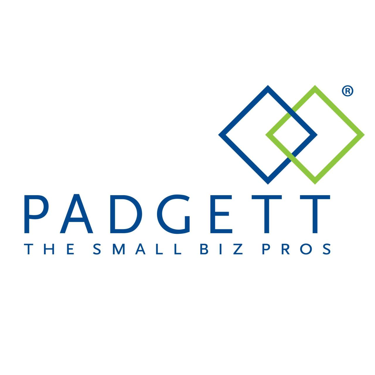 business logo that reads Padgett