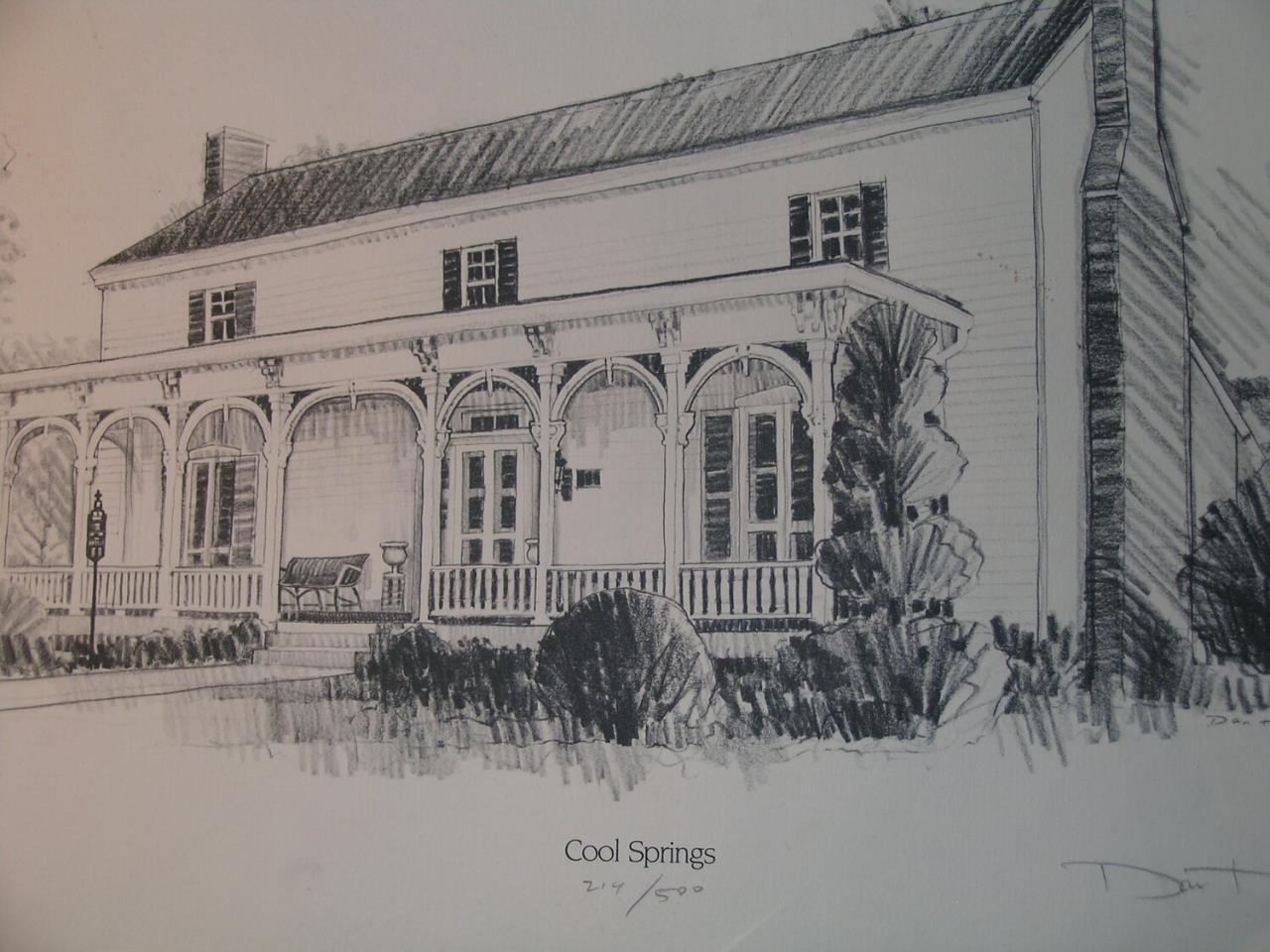 COOL SPRINGS HOUSE DRAWING