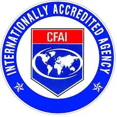 ICAF Accreditation Sticker