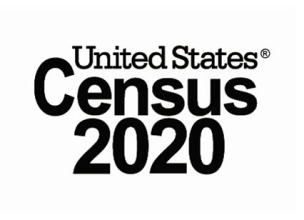 the words United States and Census 2020 logo