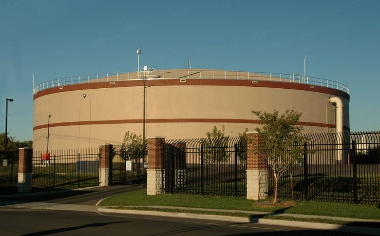 example of what a future Brentwood storage tank could possible look similar to