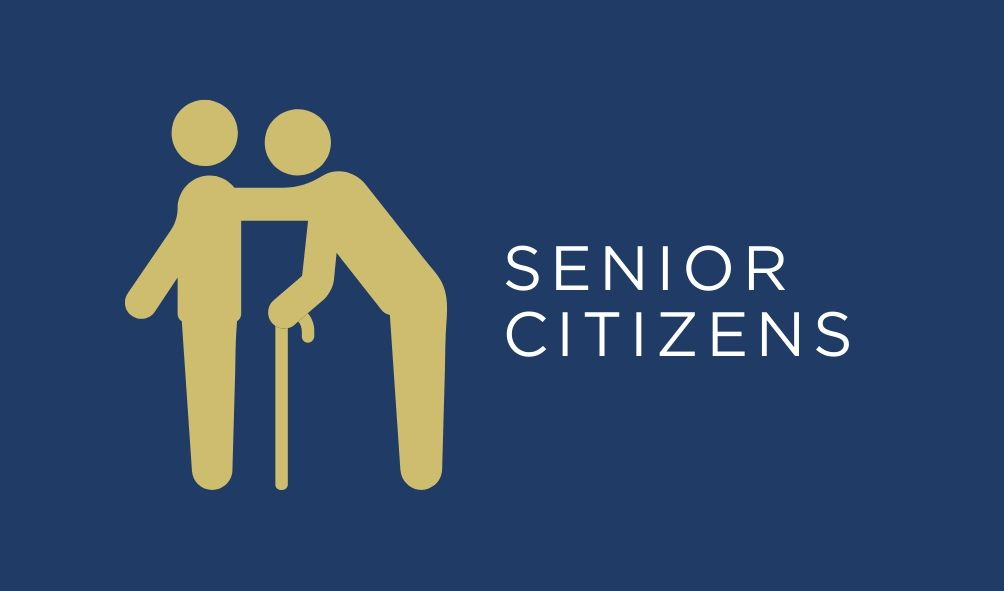 logo that shows and reads senior citizens
